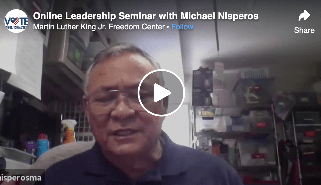 Attorney and Civil Rights Leader Michael Nisperos